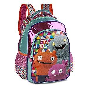 Mochila Escolar Infantil Ugly Dolls Verde Clio UG2299J