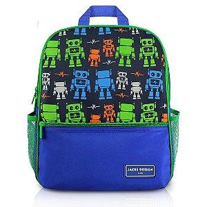 Mochila Escolar Sapeka Jacki Design Robô - AHL17517