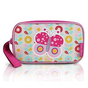 Estojo Necessaire Pequeninos Jacki Design Borboleta Pink - AHL17271