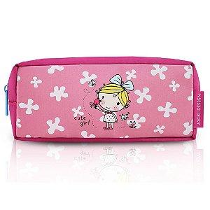 Estojo Necessaire Pequeninos Jacki Design Passarinhos Pink - AHL17272