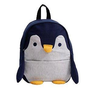 Mochila Infantil Escolar Animais Clio Pinguim - CP2173P