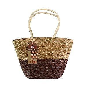 Bolsa de Praia Tote Bag Pagani Caramelo PG6931