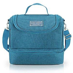 Bolsa Térmica com 2 Compartimentos Concept Azul Jacki Design - AHL20931