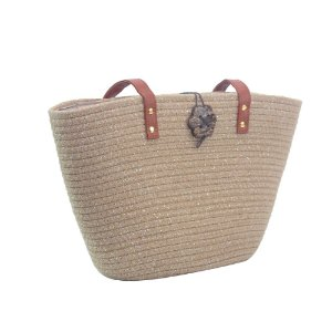 Bolsa de Praia Casual Tote Bag Pagani Taupe - PG6928