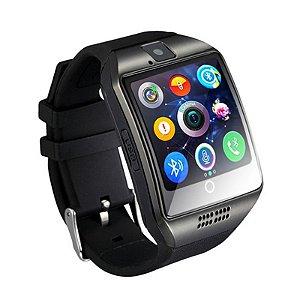 267de5cc76a Q18 NAIKU Smartwatch Bluetooth Relógio Inteligente Relógio Android Telefone  Chamada SIM TF Camera para IOS iPhone