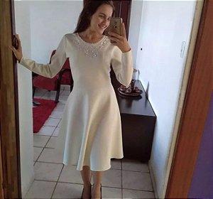 Vestido De Neoprene Gode Roupas Evangelicas