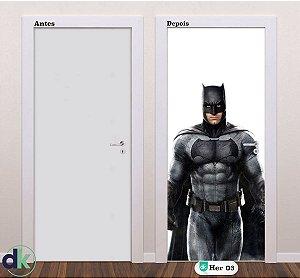 Adesivo decorativo de Porta Batman