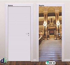 Adesivo decorativo de Porta Castelo New 03