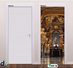 Adesivo decorativo de Porta Castelo New 04