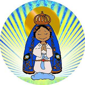 Painel Nossa Senhora Aparecida redondo (07) 1,30X1,30