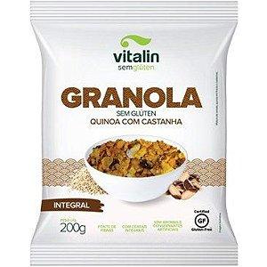Granola de Quinoa com Castanha