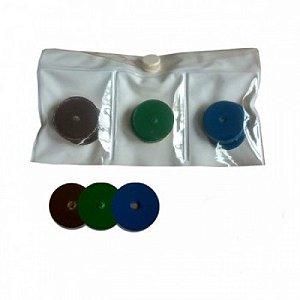 Disco de Lixa 36 unidades Sortido