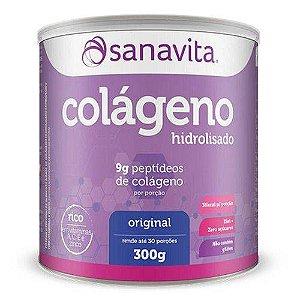 Colágeno Hidrolisado - Sanavita - Original - 300g