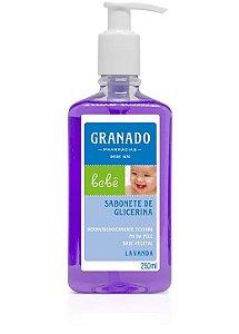 Sabonete Líquido Bebê Lavanda 250ml Granado