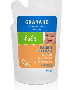 Refil Sabonete Líquido Camomila 250ml Granado