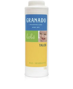 Talco Bebê 100g Granado