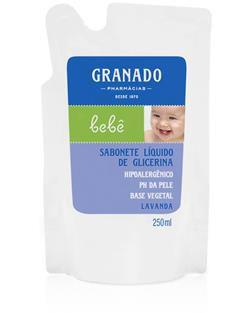 Refil Sabonete Líquido Lavanda 250ml Granado