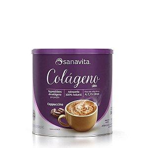 Colágeno Skin Cappuccino 300g - Sanavita