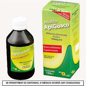 Apiguaco Solução Oral Edulito (Xarope sem açucar) 150 ML - Apis Flora