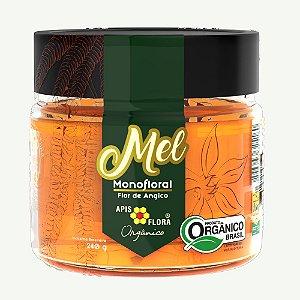 Mel Monofloral Flor de Angico Orgânico - 240 g - Apis Flora