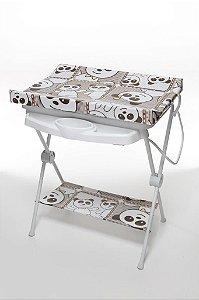 Banheira Plástica de Bebê Galzerano Luxo Panda