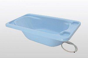 Banheira Plástica de Bebê Galzerano Rígida Azul