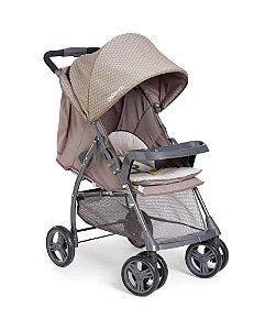 Carrinho de Bebê Berço-Passeio Galzerano San Remo Capuccino