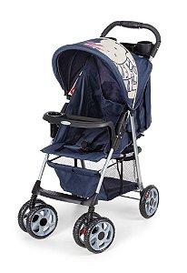 Carrinho de Bebê Berço-Passeio Galzerano Veneto Azul
