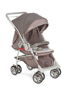 KIT Galzerano Carrinho Maranello II Capuccino + Bebê Conforto Cocoon Várias Cores