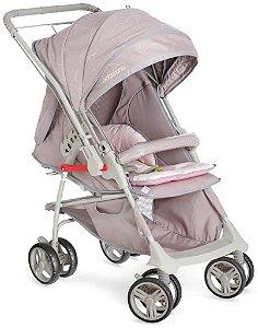 KIT Galzerano Carrinho Maranello II Rosa + Bebê Conforto Cocoon Várias Cores