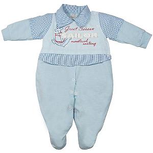 Saída Maternidade Marinheiro Azul