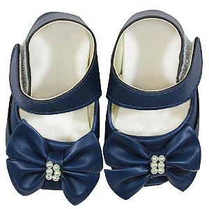 Sapato Cristal Azul Marinho