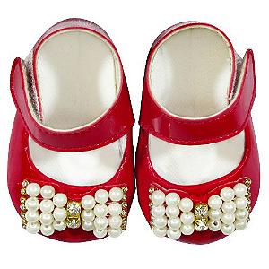 Sapato Verniz Carol Vermelho