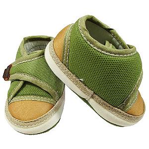 Tênis Verde Velcro Luxo
