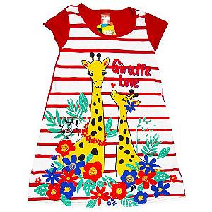 Vestido Girafinha Vermelho