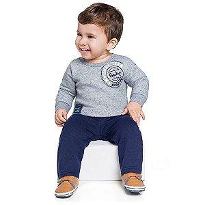 Conjunto Blusa e Calça Bebê Esportista