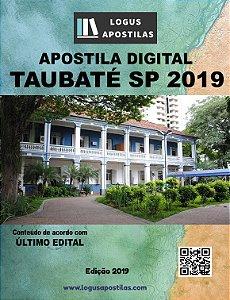 Apostila PREFEITURA DE TAUBATÉ SP 2019 Assessor Técnico de Análises e Controle De Custos