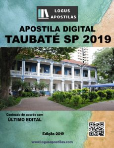 Apostila PREFEITURA DE TAUBATÉ SP 2019 Auditor Chefe