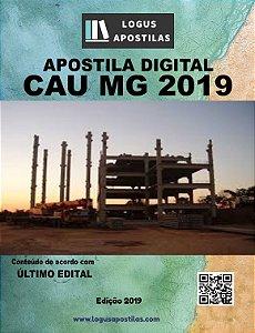 Apostila CAU MG 2019 Arquiteto E Urbanista
