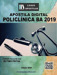Apostila POLICLÍNICA BA 2019 Psicólogo clinico
