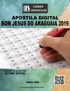 Apostila PREFEITURA BOM JESUS DO ARAGUAIA MT 2019 Nutricionista