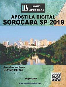 Apostila PREFEITURA DE SOROCABA SP 2019 Fiscal De Saúde Pública