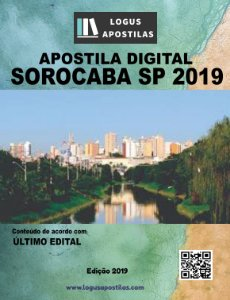 Apostila PREFEITURA DE SOROCABA SP 2019 Técnico De Controle Administrativo