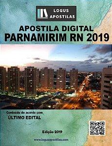 Apostila PREFEITURA DE PARNAMIRIM RN 2019 Nutricionista