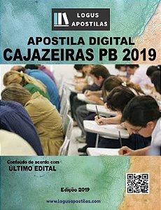 Apostila PREFEITURA DE CAJAZEIRAS PB 2019 Fisioterapeuta