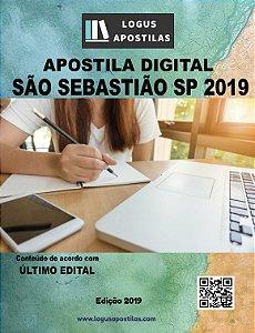 Apostila PREFEITURA DE SÃO SEBASTIÃO SP 2019 Psicólogo