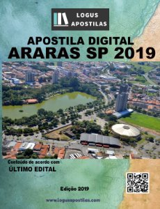 APOSTILA PREFEITURA DE ARARAS SP 2019 PROFESSOR DE INGLÊS
