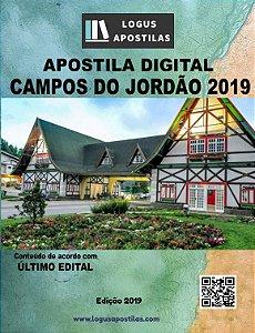 PREFEITURA CAMPOS DO JORDÃO SP 2019 PROFESSOR DE PORTUGUÊS