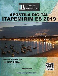 APOSTILA PREFEITURA DE ITAPEMIRIM ES 2019 Fiscal Sanitário