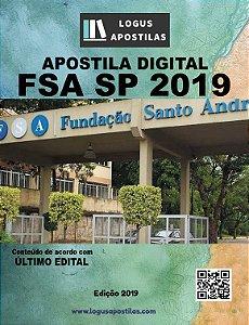 Apostila FSA SP 2019 Analista Administrativo de Contratos e Convênios
